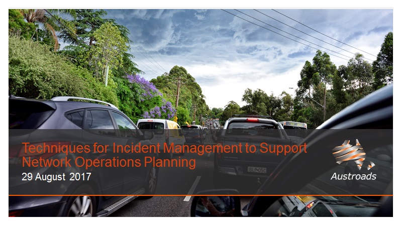Webinar: Techniques for Incident Management to Support Network Operations Planning