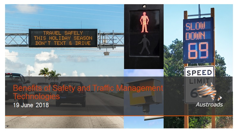Webinar: Benefits of Safety and Traffic Management Technologies