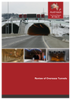 Cover of Review of Overseas Tunnels